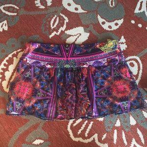 Super cute lucky in love tennis skirt